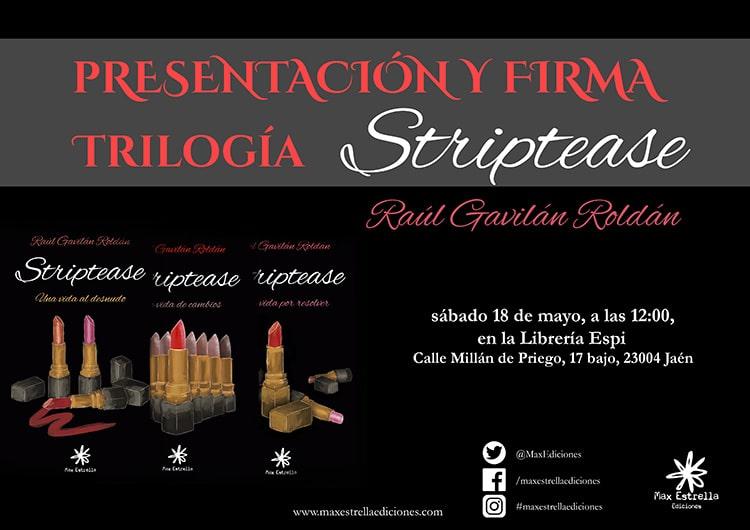 Striptease Presentación Jaén